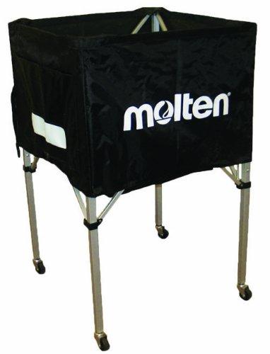 (Black) - Molten Volleyball Cart, Standard Square Design (Black) B0063NF4IQ