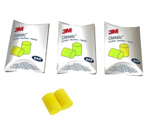 3M Classic Earplug Yellow Pairs