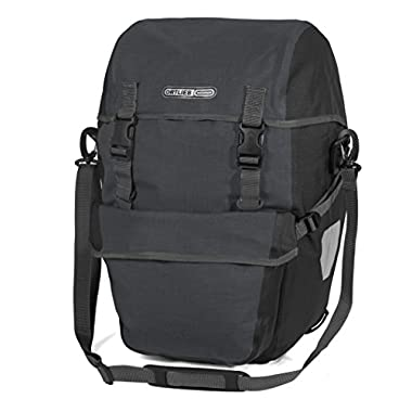 Ortlieb Bike-Packer Plus QL2.1 Panniers (Pair) GRANITE-BLACK #F2704