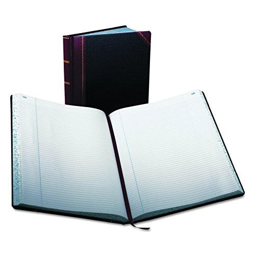 Boorum & Pease 23 Series Columnar Book, Record, 300 Page, Black/Red (23-300-R) by Boorum & Pease