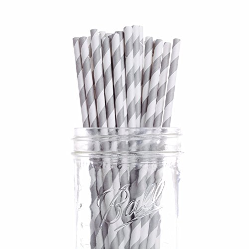 Dress My Cupcake 25-Pack Vintage Paper Cakepop Straws, 6-Inc