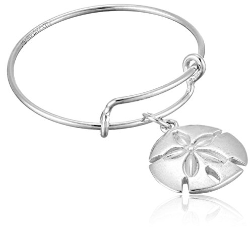 Alex and Ani Expandable Wire Sand Dollar Stackable Ring