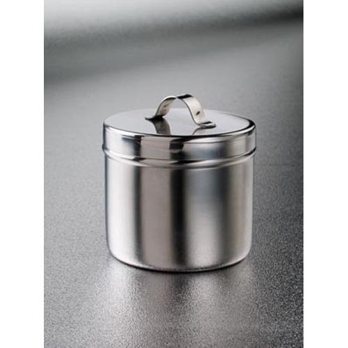 DUKAL 4238 Tech-Med Ointment Jar, 8 oz, Stainless Steel by Dukal