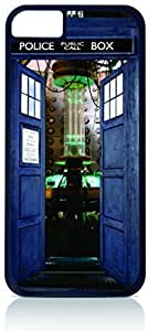 Lmf DIY phone caseInside Tardis Blue Police Call Box Apple iphone 5c Universal- Hard black plastic case with black soft rubber lining (double layer).Lmf DIY phone case