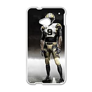 New Orleans Saints HTC One M7 Cell Phone Case White persent zhm004_8449825