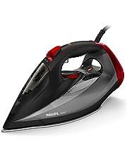 Philips Stoomstrijkijzer Azur - 2600 Watt - Stoomstoot tot 250 gram - Continue stoom 50 gram per minuut - Snelle kalkverwijdering - 2 meter snoer - Druppelstop - Zwart - GC4567/80