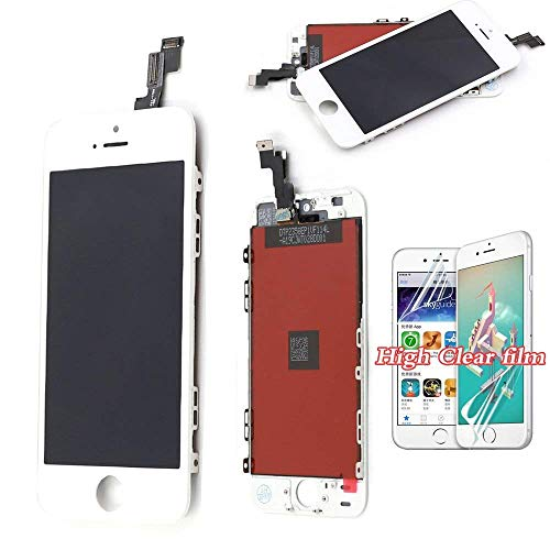 Recyco Compatible Screen Replacement For Iphone 5s Se Lcd Display Touch Screen Digitizer Glass Lens Assembly White