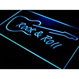 ADV PRO i303-b Rock and Roll Guitar Music NEW Neon Light Sign