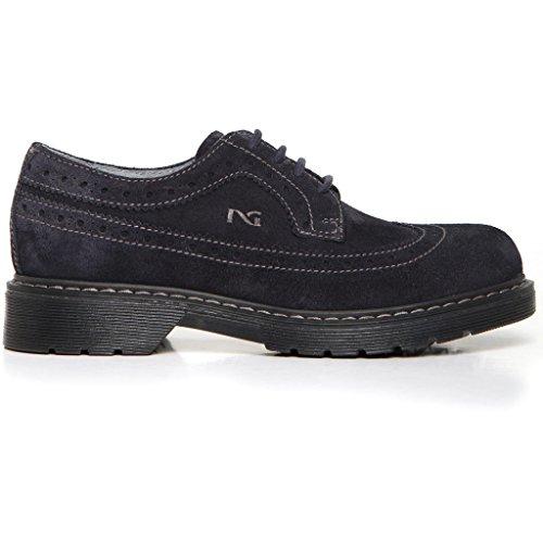 garçon Bleu Sneakers Giardini basses Nero xHF4qYH