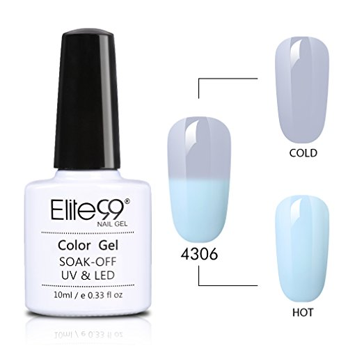 Elite99 Gel Nail Polish Temperature Color Changing Grey Seri