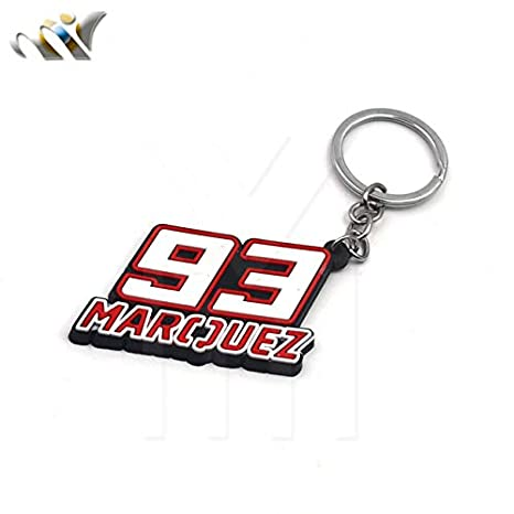 Amazon.com: Key Rings Motorcycle Model Keychain Keyring Key ...