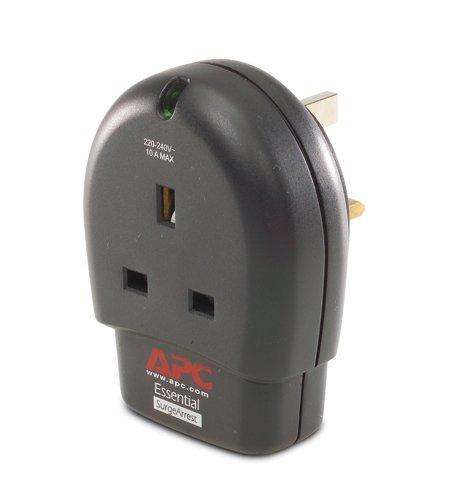 APC P1-GR - Protector de sobretensión (230 V, 50-60 Hz), negro ...