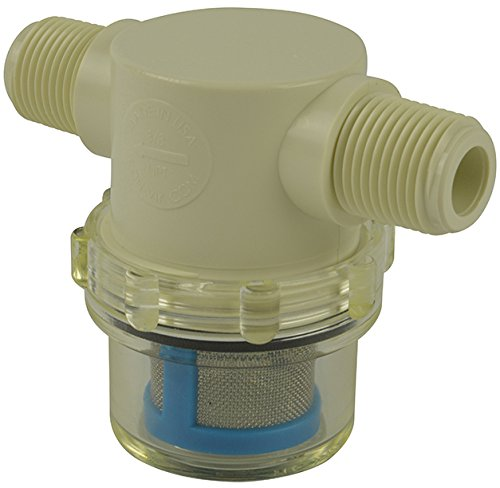 "3/8"" Male NPT In-Line Strainer with 50 mesh"