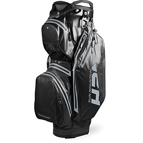 Sun Mountain 2020 H2NO Staff Golf Cart Bag (Black)