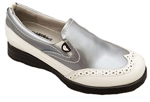 Sandbaggers Vanessa Women's Golf Shoe (Prismatic, (Sandbaggers Womens Shoes)