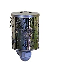 Butterfly and Flowers Plug In Accent Wax Warmer