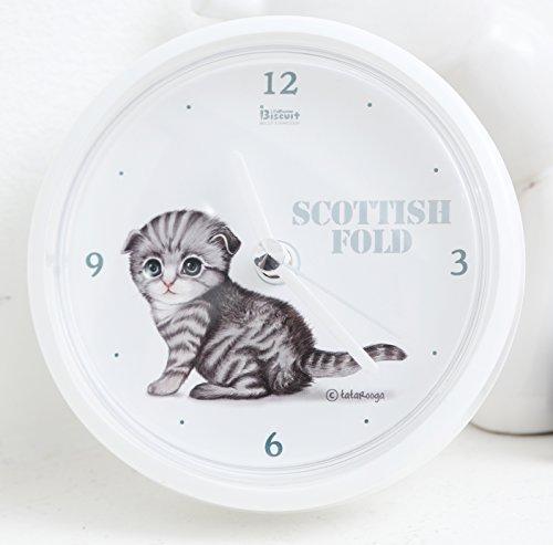 Tatarooga Design Cat Waterproof Bathroom Shower Clock