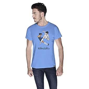 Creo Captain Majid T-Shirt For Men - S, Blue