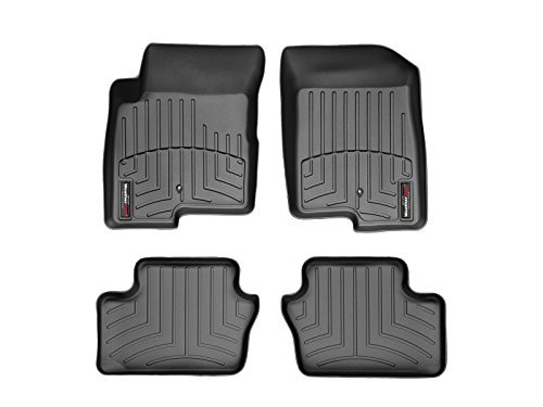 WeatherTech First and Second Row FloorLiner (Black) (Caliber Weather Tech)
