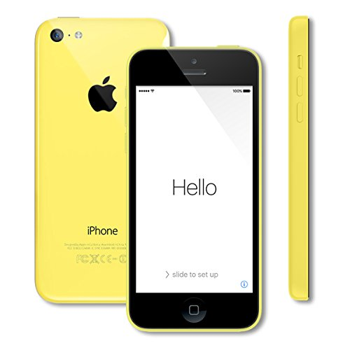 Apple iPhone 5C 8GB Factory Unlocked GSM Cell Phone - Yellow