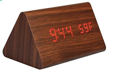 Amazon.com: Pantalla sonido activado - - Grano de madera LED ...