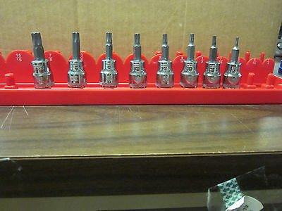 8pc DeWALT TORX / STAR 3/8