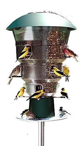 Wild Bill's 12 Station Squirrel Proof Bird Feeder ()