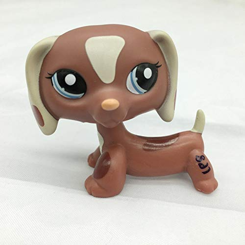 Grocoto Action & Toy Figures - Lps Real Pet Shop Lps Toys Collections Standing Short Hair Cat White Tabby Black Dachshund Dog Collie Great Dane 28 Styles 1 PCs (Littlest Pet Shop 28)
