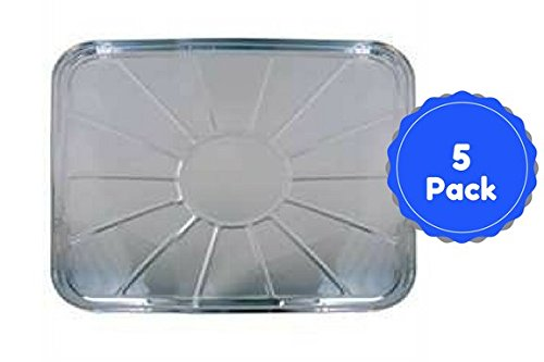 Disposable Aluminum Foil Oven Liners For Bottom Of Oven Set Of 5 Count 18.5 X 15.5 ()