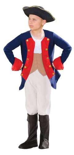 (Morph Boys Patriot Soldier Costume, Blue,)