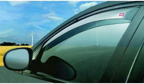 Compatible avec Ford Tourneo Courier 5P 2014- 19.651 D/ÉFLECTEUR pour LA Protection Contre Le Vent dair ET DE Pluie pour Barre DE FEN/ÊTRE DE Voiture pour D/ÉFLECTEURS dair FRONTAUX en Verre