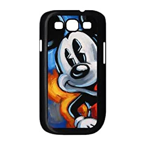 Disney Mickey Mouse Minnie Mouse Samsung Galaxy S3 9300 Cell Phone Case Black Special gift AJ88757U