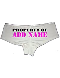 Create Your Own Personalized Property of Sexy Cute Booty Shorts