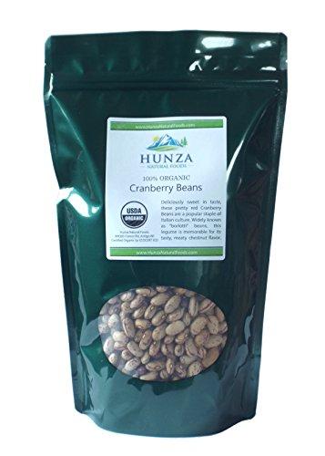 Hunza Organic Cranberry Beans (2 lbs)