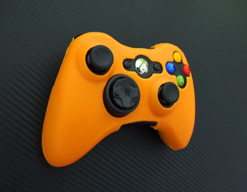 One Piece 1x Brand New Xbox 360 Remote Controller Silicon Protective Skin Case Cover -Orange Color Review