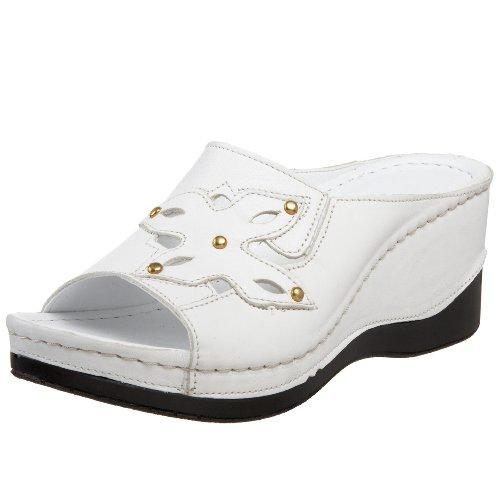 Spring Step Women's Star Sandal,White,36 M EU / 5.5-6 (Spring Step Womens Star)