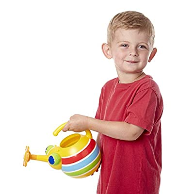 Melissa & Doug Sunny Patch Giddy Buggy Watering Can With Flower-Shaped Spout: Toys & Games