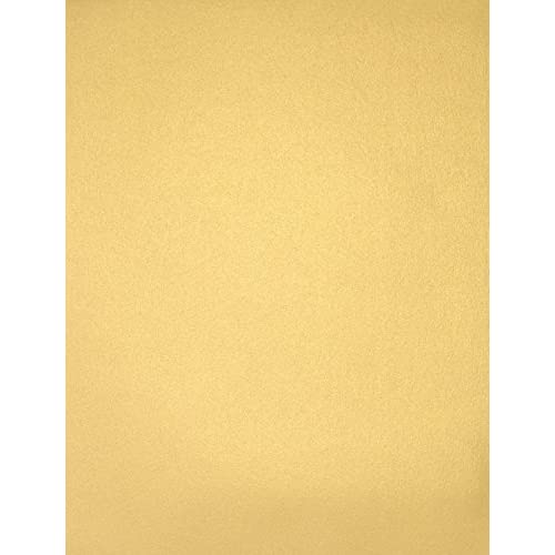 8 1/2 x 11 Paper - Gold Metallic (50 Qty.) | Perfect for Printing, Copying, Crafting, Tickets, various Business needs and so much more! | 80lb Paper | 81211-P-40-50