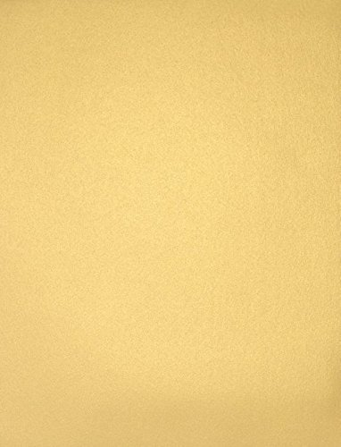 8 1/2 x 11 Paper - Gold Metallic (50 Qty.) | Perfect for Weddings and Events, Crafting, Printing, Copying, Tickets, Writing, Business Needs and More | 80lb. Text Weight Paper | 81211-P-40-50
