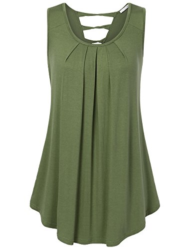 Ruched Back Tank - 2