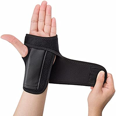 CFR Wrist Support Braces Hand Wraps Double Removable Steel Splints for Carpal Tunnel Tendonitis Wrist Pain /& Sports Injuries