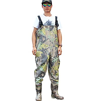 Sougayilang Boot-Foot Chest Waders Waterproof Fishing Hunting Boot Waders