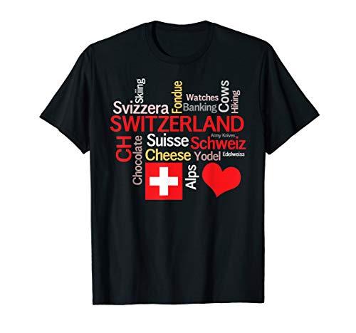 Why I Love Switzerland T-Shirt ()
