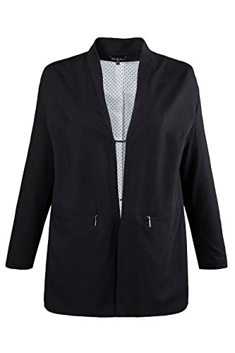 Ulla Popken Women's Plus Size Updated Blazer Navy 16/18 703564 70