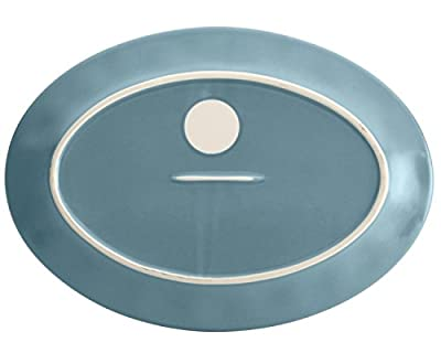 Rachael Ray Cucina Dinnerware 10-Inch x 14-Inch Stoneware Oval Platter
