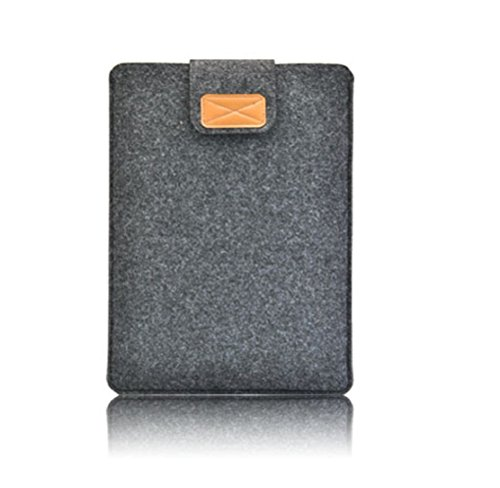 Nasis unisex felt protective cover bag for ipad air and tablet PC sleeve AL3022 (darkgrey, Pro 15.4)