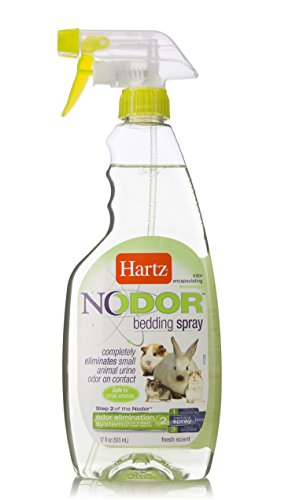 HARTZ Nodor Fresh Scent Odor Eliminating Small Animal Bedding Litter Spray, 17 - Animal Small Bedding