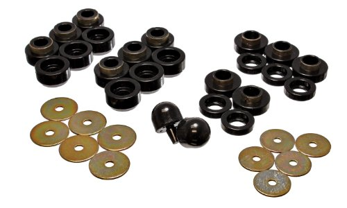 Energy Suspension 2.4107G Body Mount Set for Jeep TJ