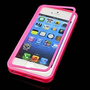 ZCL sold out Solid Color with Touch Screen Full Body Case for iPhone 5/5S(Assorted Color) , Blue