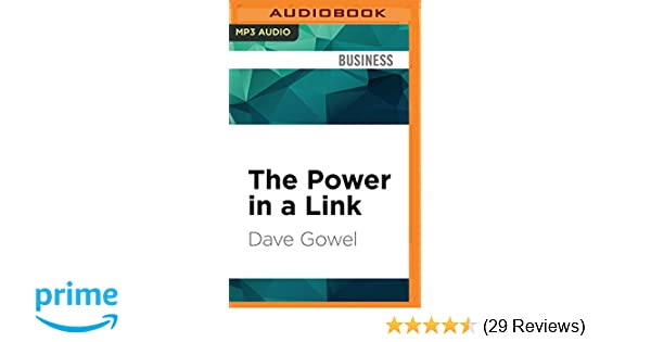 6739d78cb The Power in a Link: Open Doors, Close Deals, and Change the Way You Do  Business Using LinkedIn: Dave Gowel, Jonathan Davis: 9781531816469:  Amazon.com: ...